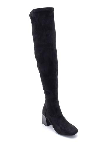 Derimod Kadın Çizme (19252) Casual Siyah